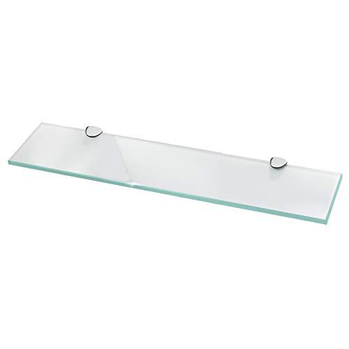 Glasregal Wandregal für Badezimmer Milchglas -...