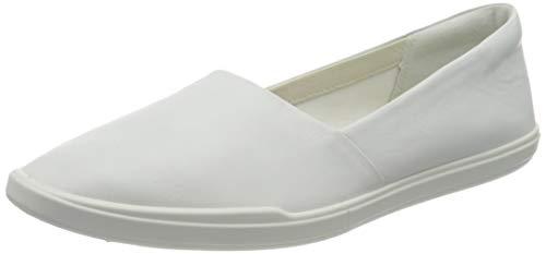 Ecco Damen SIMPILW Slipper, Weiß (White 1007), 38...