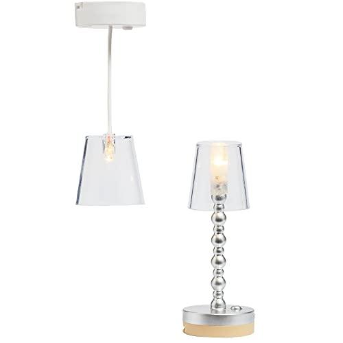 Lundby 60-605000 - Lampen Puppenhaus - 2 Stück -...