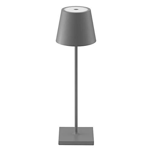 SIGOR Nuindie - Dimmbare LED Akku-Tischlampe...