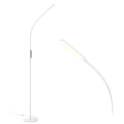 Gladle Stehlampe LED Stehleuchte Dimmbar, 10W...