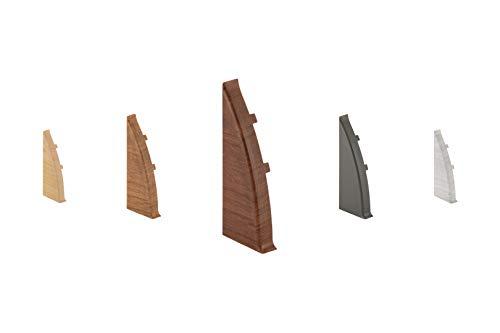 LEMAL Endkappen links, PVC 60x26mm - Zubehör für...