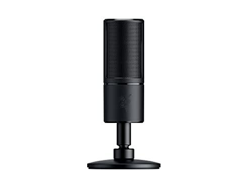 Razer Seiren X Streaming Microphone Built-In Shock...
