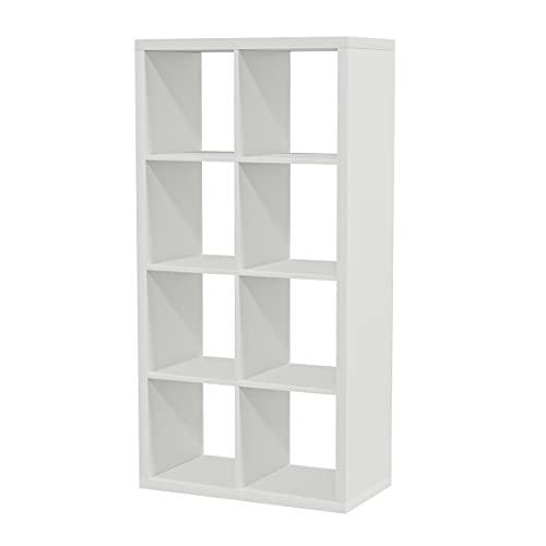 Ikea KALLAX Regal in weiß; (77x147cm); Kompatibel...