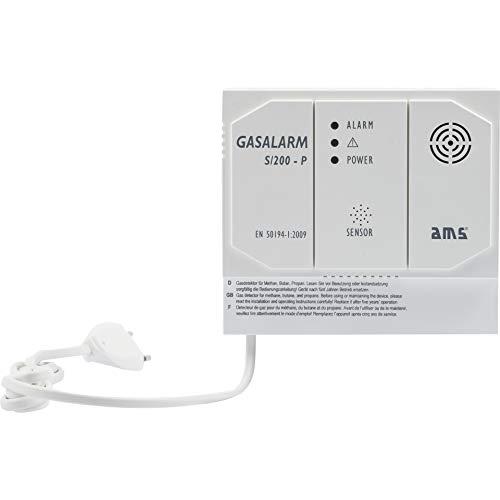 Gasmelder Gasalarm S/200-P mit zusätzlichen...