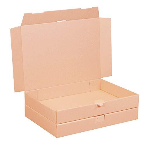 50 Maxibriefkartons 350 x 250 x 50 mm braun (50...