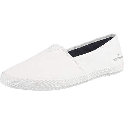 TOM TAILOR Damen 6992404 Slipper, Weiß (White...