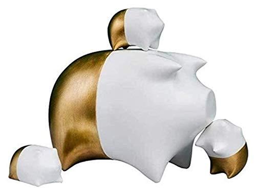 WQQLQX Statue Schwein Figur Abstrakt Tier Schmuck...
