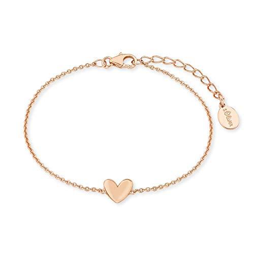 s.Oliver Armkette für Damen, Sterling Silber 925,...
