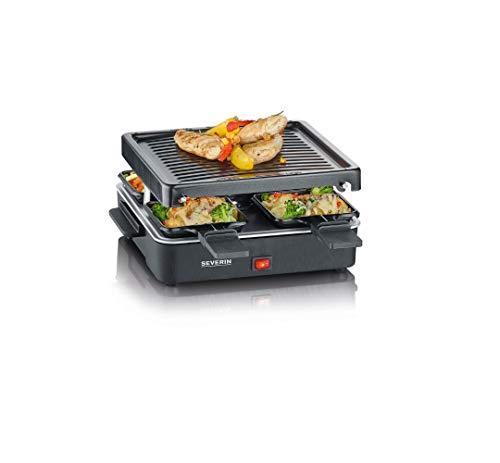 SEVERIN Mini Raclette-Grill, kleines Raclette mit...