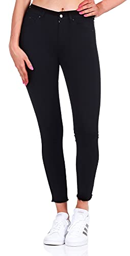 ONLY Damen Ankle Jeans Blush Life Mid 15167313...