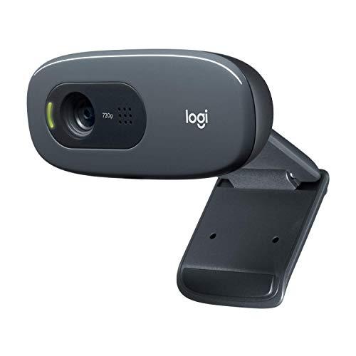 Logitech C270 Webcam, HD 720p, 60° Sichtfeld,...