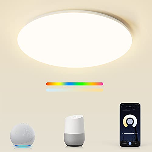 Smart LED RGBW Deckenleuchte kompatibel mit...