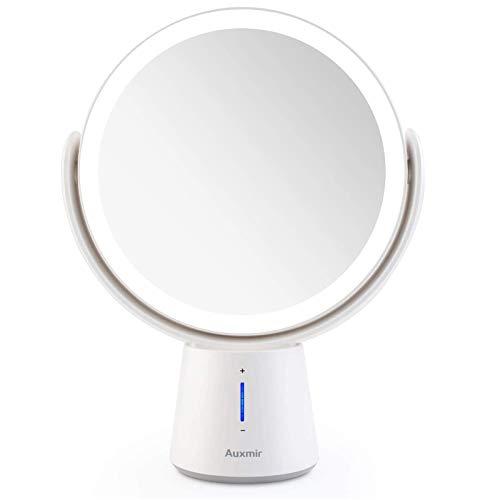 Auxmir Kosmetikspiegel LED Beleuchtet mit 1X/10X...