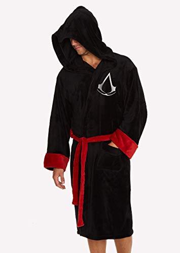 Groovy Assassin's Creed Bademantel mit Kapuze,...