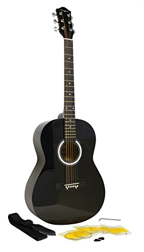 Martin Smith Akustikgitarre mit Gitarrensaiten,...