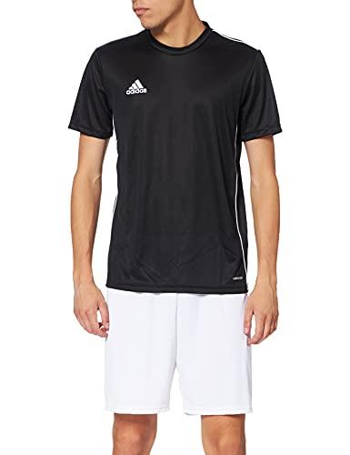 adidas Herren Core 18 Trikot, Black/White, M