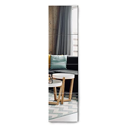 Muzilife Spiegel 4 Stücke 30x30cm aus Glas DIY...