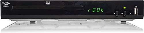 Xoro HSD 8470 HDMI MPEG4 DVD-Player (USB 2.0,...