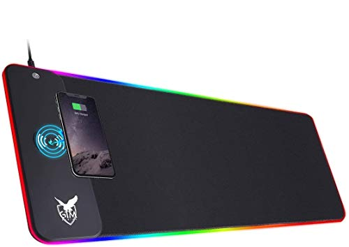 ICETEK RGB Gaming Mauspad XXL LED Mousepad Großes...