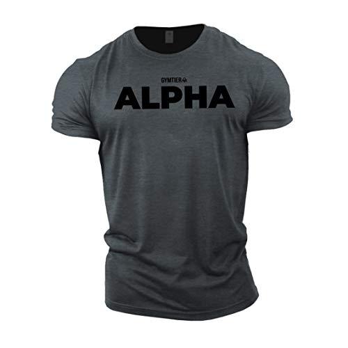 GYMTIER Alpha - Bodybuilding-T - Shirt   Herren...