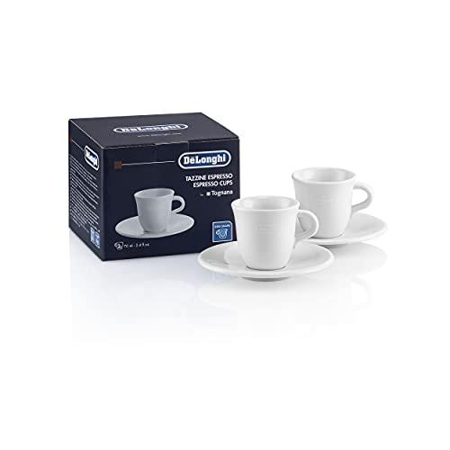 De'Longhi Espressotassen Set aus Porzellan DLSC308...
