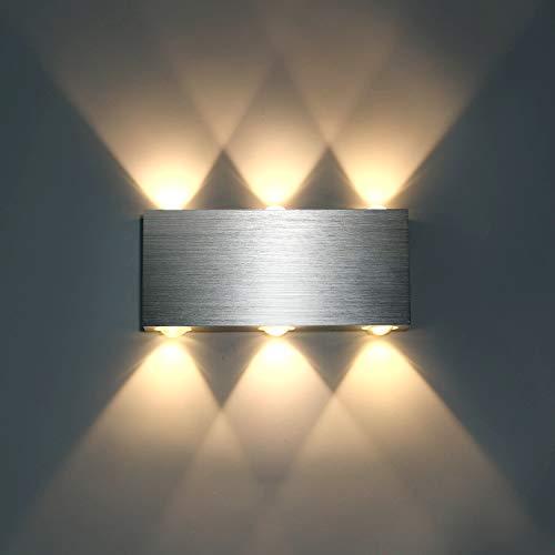 Lightess 18W LED Wandleuchte Innen Modern Up Down...