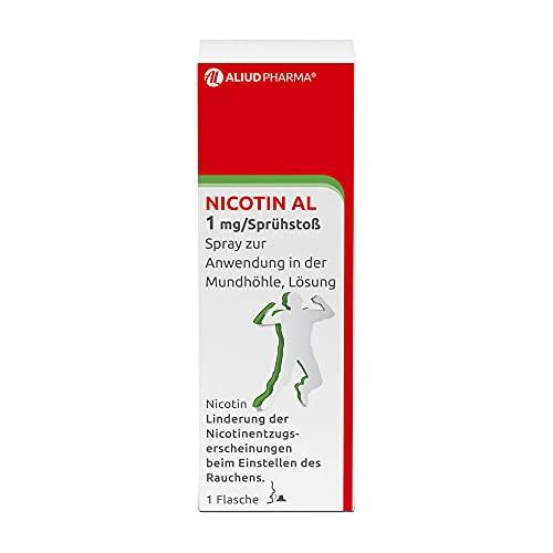 ALIUD PHARMA Nicotin AL 1 mg/Sprühstoß Spray zur...