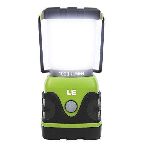 LE LED Campinglampe, Ultra Hell 1000 Lumen, 4...
