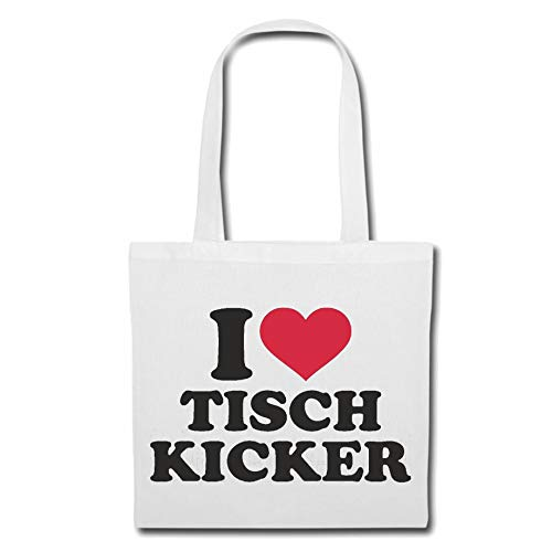 Tasche Umhängetasche I Love Tisch Kicker -...