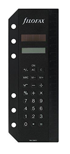 Filofax 134011 Personal Deskfax Solarrechner A5,...