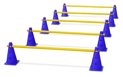 HAEST Steckhürdenset für Koordinationstraining -...