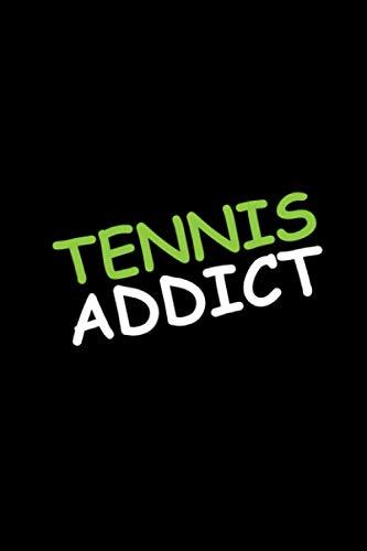 Tennis: Geschenk Notizbuch Tennis Zubehör...