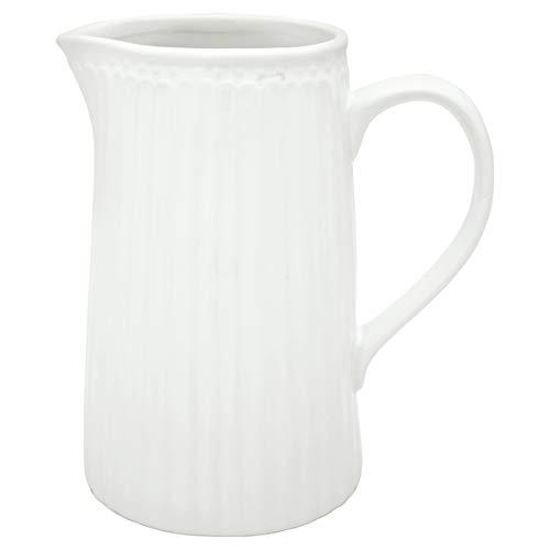 GreenGate Milchkanne Wasserkrug Krug Alice White...