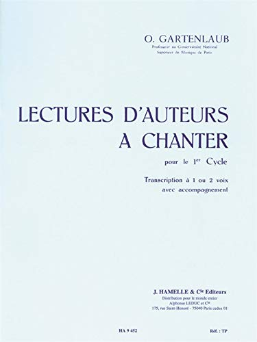 O. Gartenlaub: Lectures D'Auteurs A Chanter -...
