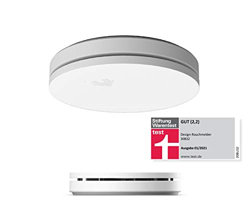 UNITEC 10 Jahres Design Rauchwarnmelder   Stiftung...