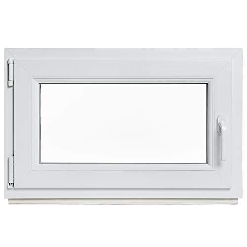 Kellerfenster - Kunststoff - Fenster - weiß -...