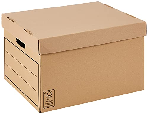 Bankers Box Aufbewahrungskarton mit Deckel aus...