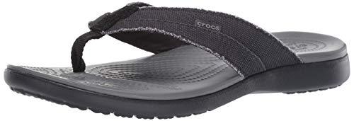 Crocs Herren Santa Cruz Canvas Flip Men...