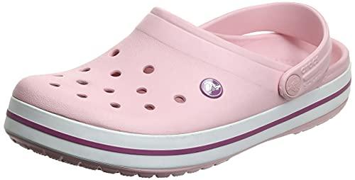 Crocs Unisex Crocband Clogs, Pearl Pink Wild...