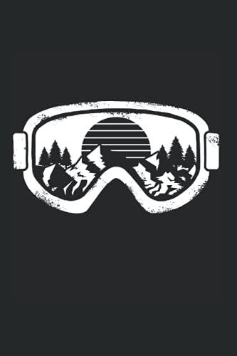 Notizbuch: Wintersport Ski Snowboard...