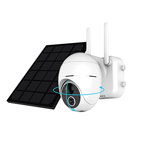 HiKam R9 Überwachungskamera Aussen Akku 15000mAh...