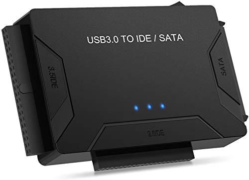 USB 3.0 zu Sata und IDE Adapter, POSUGEAR USB SATA...