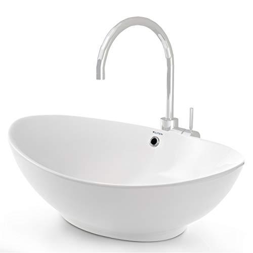 VILSTEIN© Keramik Waschbecken Aufsatz-Waschbecken...