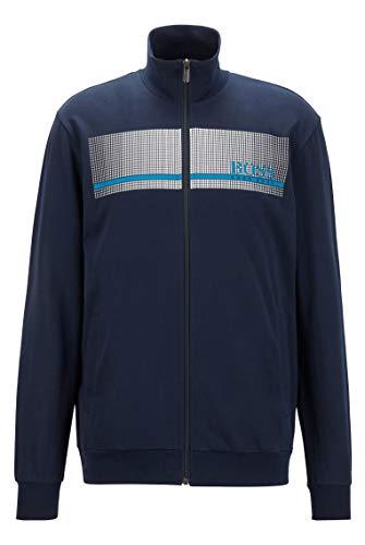 BOSS Herren Authentic Jacket Z Loungewear-Jacke...