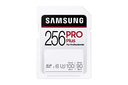 Samsung PRO Plus 256GB SDXC UHS-I U3 100MB/s Full...