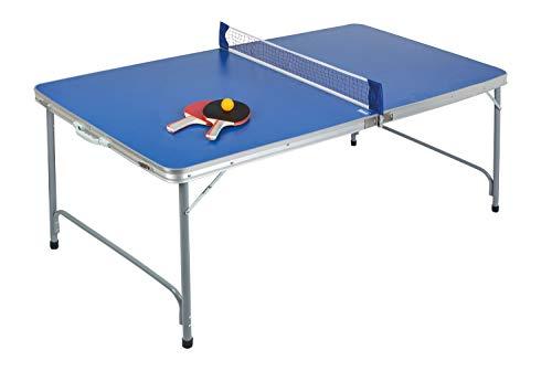 Idena 40464 - Tischtennisplatte compact, klappbar,...