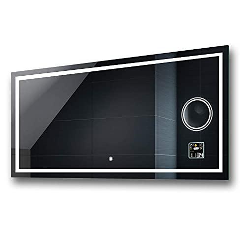 Badspiegel 80x60cm mit LED Beleuchtung - Wählen...