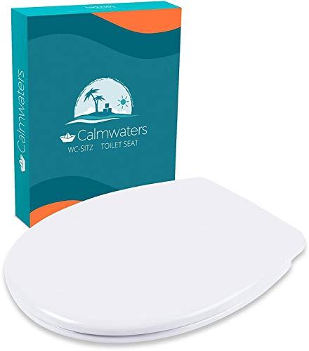 Calmwaters® Premium WC Sitz Toilettendeckel...