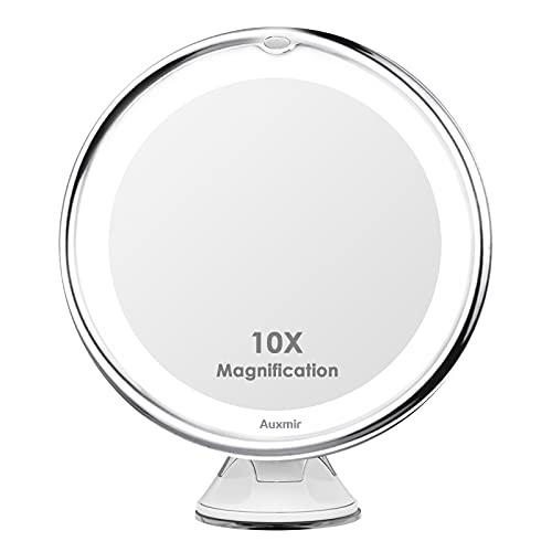 Auxmir Kosmetikspiegel LED Beleuchtet mit 10x...